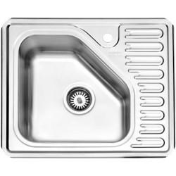 سینک ظرفشویی استیل البرز مدل 810 توکار