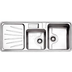 سینک ظرفشویی توکار استیل البرز مدل 814