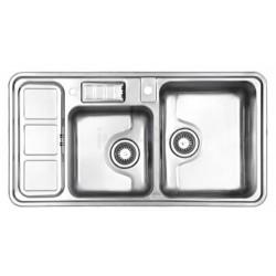 سینک ظرفشویی توکار استیل البرز مدل 813