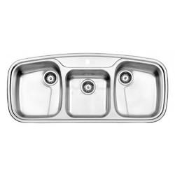 سینک ظرفشویی توکار استیل البرز مدل 624