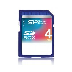 Silicon Power Class 10 SDHC - 4Gb:کارت حافظه اس دی 4 گیگ سیلیکون پاور کلاس 10