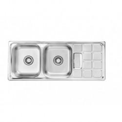 BS 511سینک ظرفشویی استیل توکار بیمکث مدل