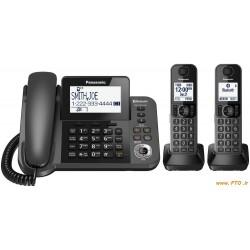 KX-TGF382    تلفن بيسيم پاناسونيك - مدل