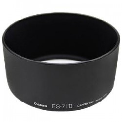 Canon ES-71 IIهود لنز