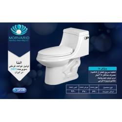 توالت فرنگی یک تیکه النا سوپر