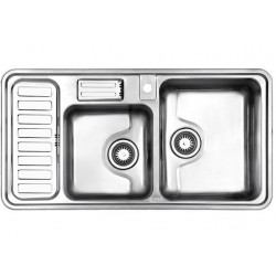 سینک ظرفشویی استیل البرز مدل 812 توکار