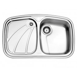 سینک ظرفشویی استیل البرز مدل 618 توکار