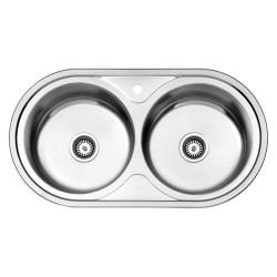 سینک ظرفشویی استیل البرز توکار مدل 750