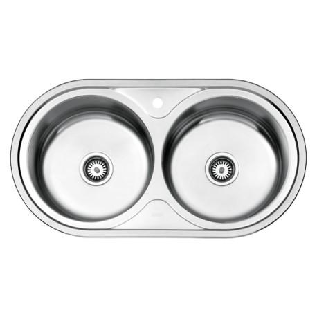 سینک ظرفشویی استیل البرز مدل 750 توکار